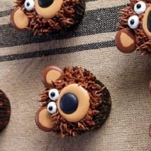 آموزش تصویری تزئین کاپ کیک به شکل خرس