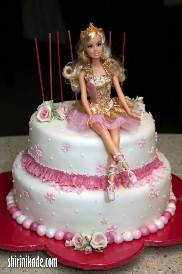 تصاویری از کیک باربی – قسمت سوم – شیرینی کده