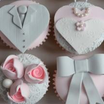 ایده هایی برای تهیه کاپ کیک عروسی