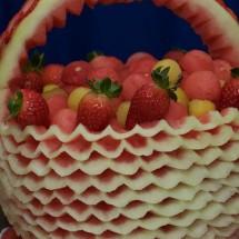 ایده هایی زیبا برای تزئین میوه ۲