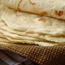 آموزش تصویری طرز تهیه نان تورتیلا