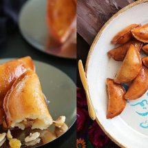 طرز تهیه کتایف با فیلینگ آجیل مخصوص رمضان
