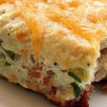 آموزش تصویری طرز تهیه کیک مرغ پنیری