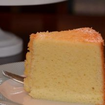 آموزش طرز تهیه کیک شیفون لیمویی