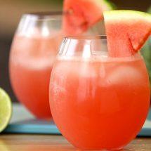 طرز تهیه نوشیدنی هندوانه و لیمو و نعناع