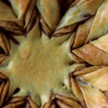 آموزش طرز تهیه نان ستاره ای نوتلا