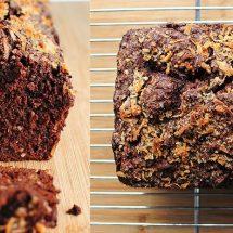 آموزش تصویری طرز تهیه نان موز و شکلات تلخ