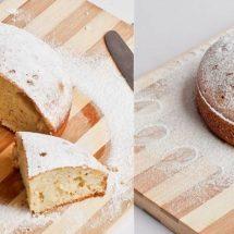 آموزش تصویری طرز تهیه کیک وانیلی در زودپز