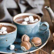 طرز تهیه هات چاکلت مخصوص با مارشمالو